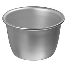Buy John Lewis Satin Hard Anodised Pudding Moulds, Set of 4 Online at johnlewis.com