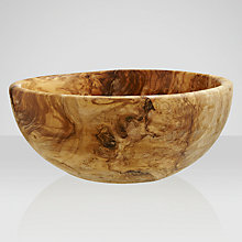 Buy ICTC Olive Wood Salad Bowl Online at johnlewis.com