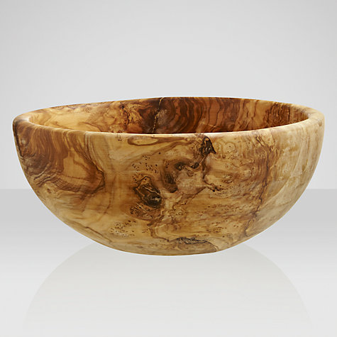Buy John Lewis Olive Wood Salad Bowl Online at johnlewis.com