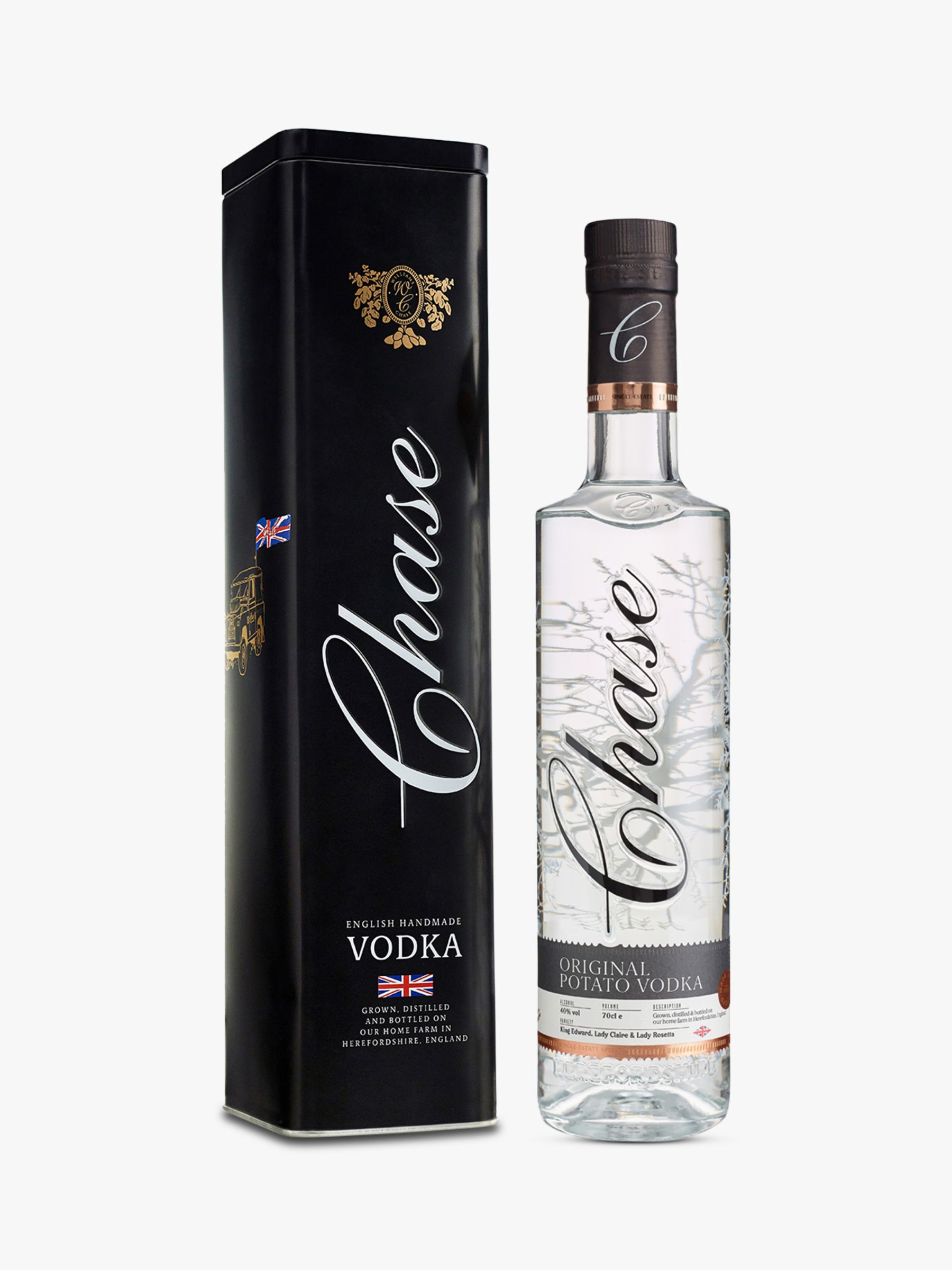 Chase Chase Vodka, 70cl