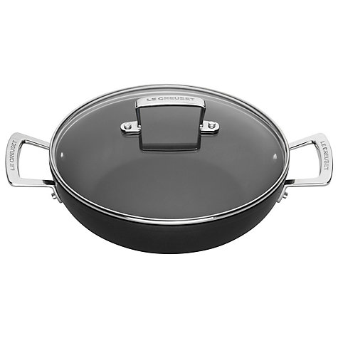 Buy Le Creuset, Shallow Toughened Non-Stick Buffet Casserole, 30cm Online at johnlewis.com