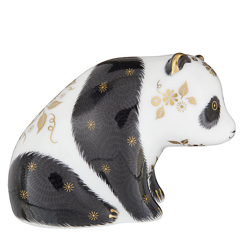 Buy Royal Crown Derby Baby Panda Paperweight Online at johnlewis.com