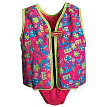 Buy Speedo Sea Squad Swim Vest and Briefs, Pink Online at johnlewis.com