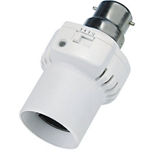 Buy Timeguard Automatic Dusk to Timed Off Security Lamp Holder Online at johnlewis.com