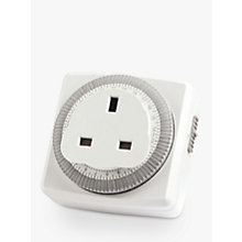 Buy Timeguard TG24 24 Hour Compact Plug-In Segment Time Controller Online at johnlewis.com