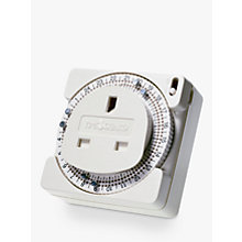 Buy Timeguard TS800B 24 Hour Compact Plug-In Time Controller Online at johnlewis.com