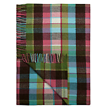 Buy Avoca Check Throw Online at johnlewis.com