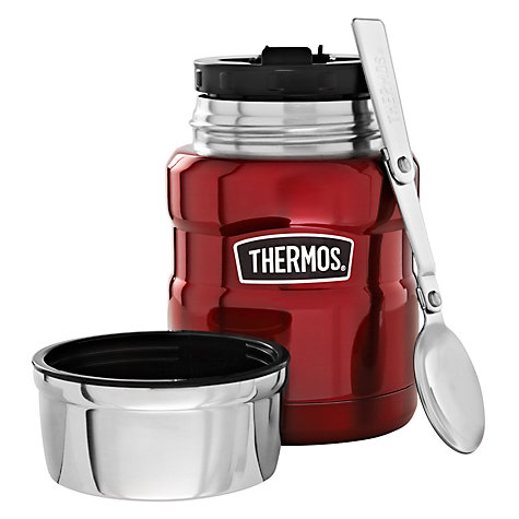 Buy Thermos Vintage Food Flask, 470ml, Red Online at johnlewis.com
