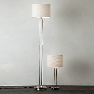 John Lewis Preston Table and Floor Lamp Duo