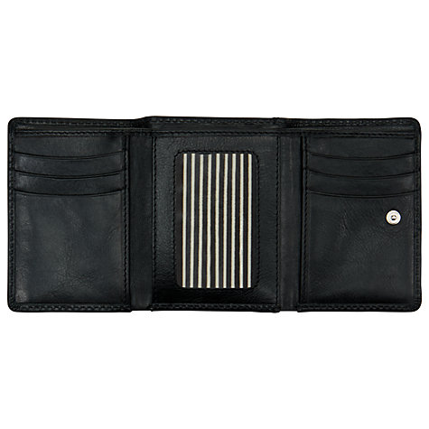 Buy John Lewis Emma Leather Credit Card Holder, Black Online at johnlewis.com