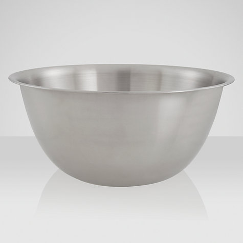 Buy John Lewis Stainless Steel Mixing Bowl, 2L Online at johnlewis.com
