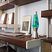 Buy Mathmos Astro Lava Lamp, Blue / Green Online at johnlewis.com