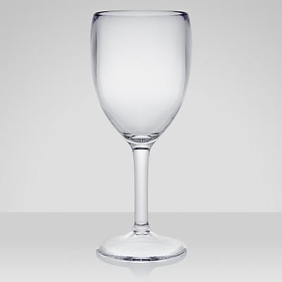 John Lewis Acrylic Picnic Wine Glasses, Set of 4