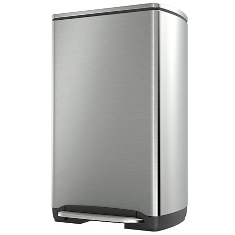 Buy simplehuman Wide-Step Rectangular Pedal Bin, 38L Online at johnlewis.com