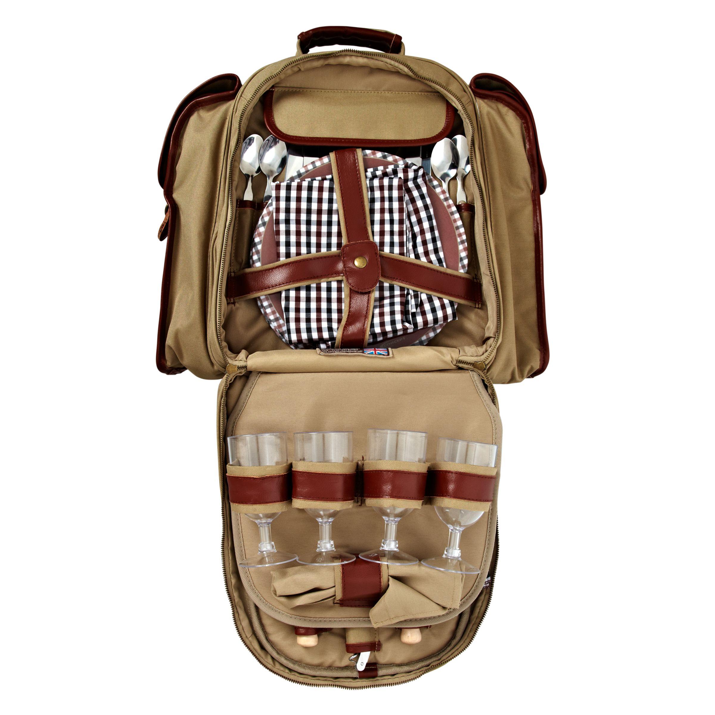 Concept Safari Picnic Backpack, 4 Person
