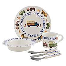 Buy Emma Bridgewater Tractors Plate Set Online at johnlewis.com