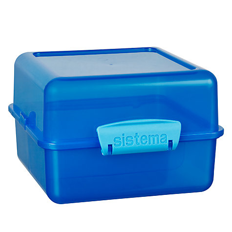 Buy Sistema Lunch Cube, Assorted Online at johnlewis.com