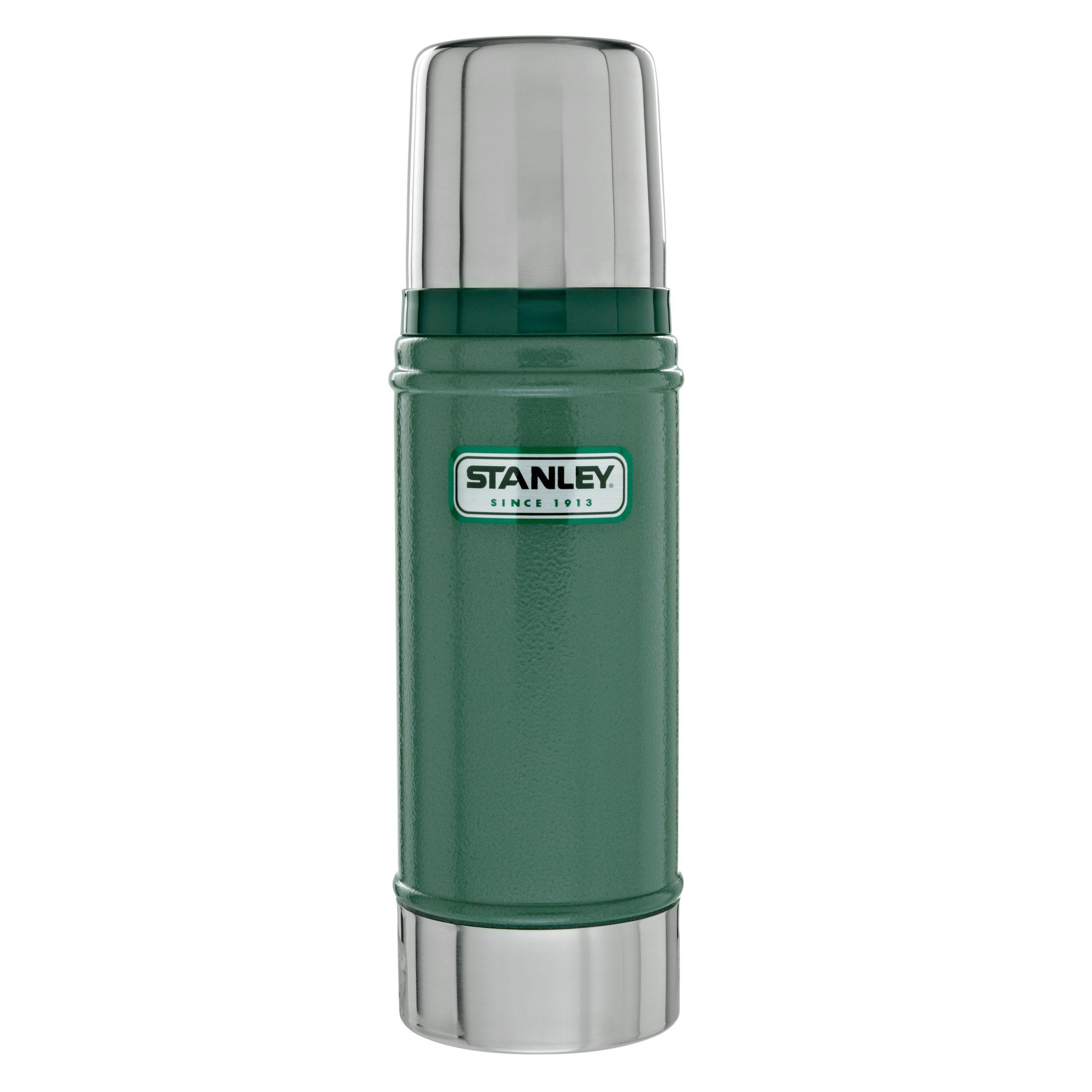 Stanley Stanley Classic Vacuum Flask, Hammertone Green, 0.47L