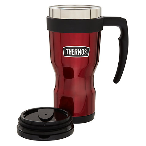 Buy Thermos Vintage Travel Mug, Red Online at johnlewis.com