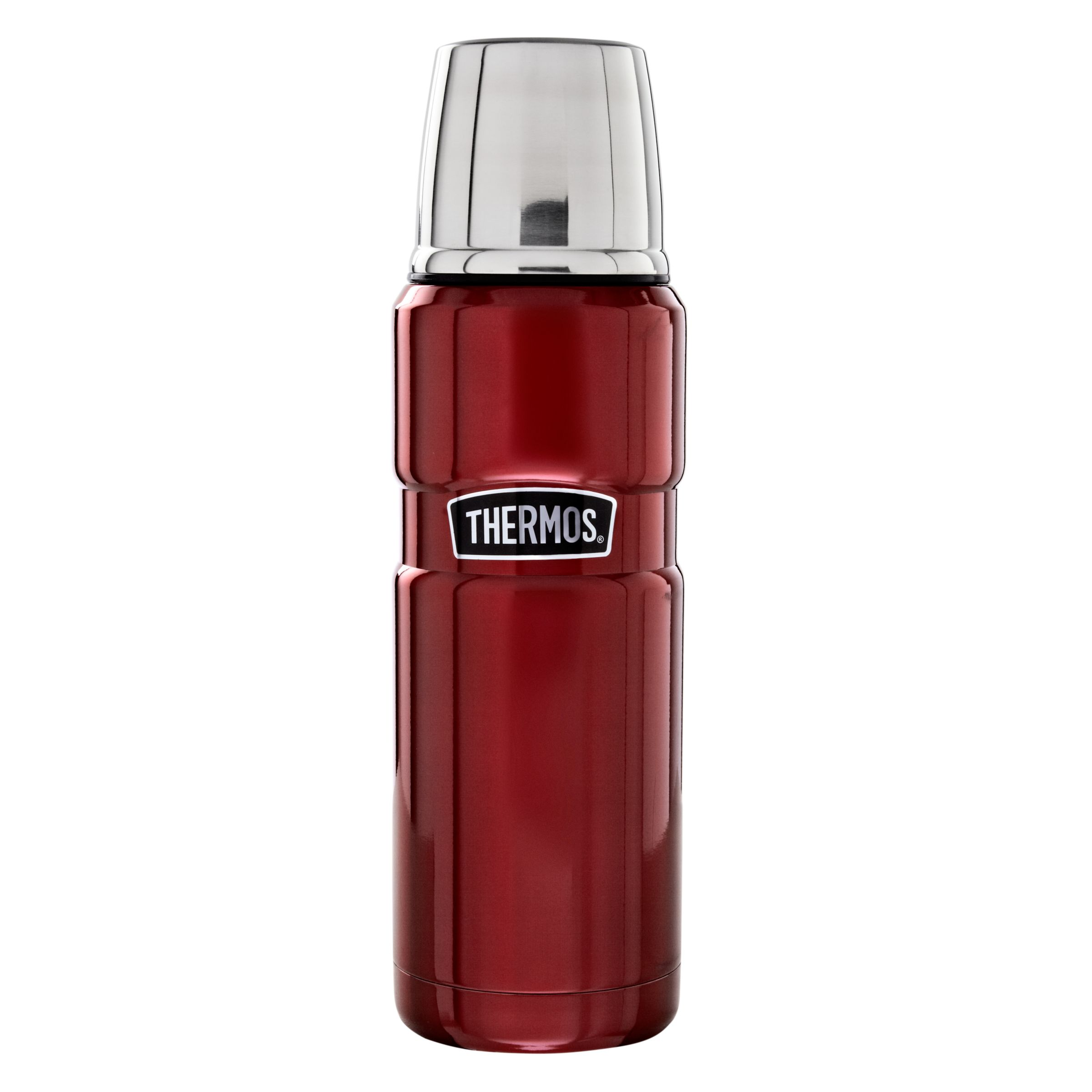 Thermos Vintage Flask, Red, 470ml