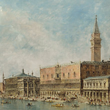 Buy Canaletto- The Basin of San Marco on Ascension Day 1, Online at johnlewis.com