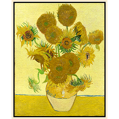 Vincent Van Gogh- Sunflowers