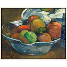 Buy Paul Gauguin- Bowl of Fruit 1 Online at johnlewis.com