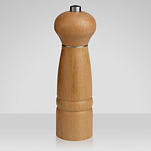Buy Cole & Mason Beech Salt Mill, 18cm Online at johnlewis.com