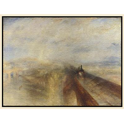 Joseph Mallord William Turner- Rain, Steam and Speed
