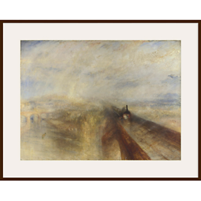 Joseph Mallord William Turner- Rain, Steam and Speed