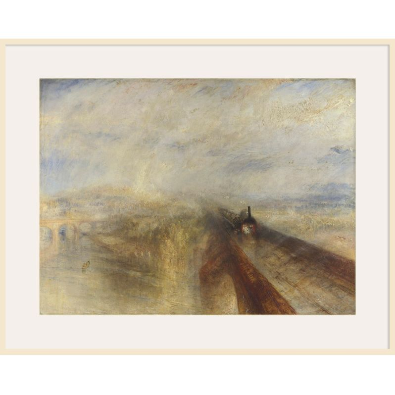 The National Gallery for John Lewis Joseph Mallord William Turner- Rain, Steam and Speed