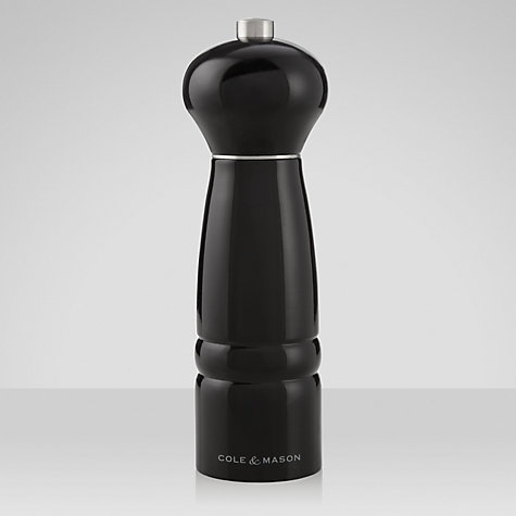 Buy Cole and Mason Top Gourmet Pepper Mill, H18cm Online at johnlewis.com