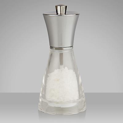 John Lewis Acrylic Salt Mill, 14cm