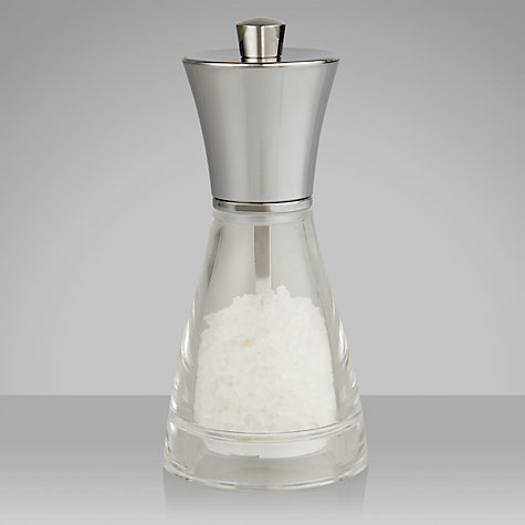 Buy John Lewis Acrylic Salt Mill, 14cm Online at johnlewis.com