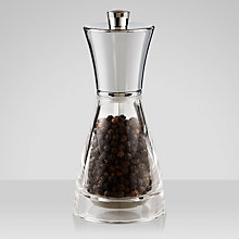 Buy John Lewis Acrylic Pepper Mill, 14cm Online at johnlewis.com
