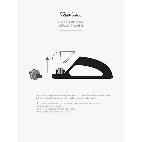Buy Robert Welch Signature, Hand Held Sharpener Online at johnlewis.com