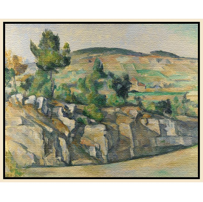 The National Gallery for John Lewis Paul Cezanne- Hillside in Provence