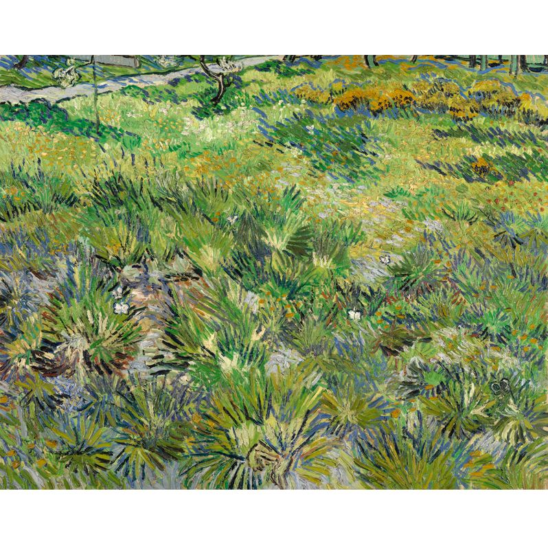 The National Gallery for John Lewis Vincent Van Gogh- Long Grasses with Butterflies