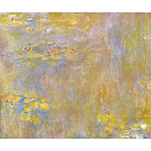 Buy Claude Monet- Waterlilies, after 1916 Online at johnlewis.com