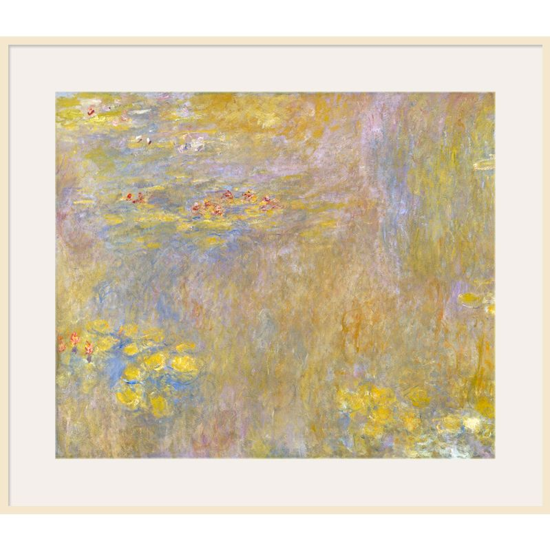 The National Gallery for John Lewis Claude Monet- Waterlilies, after 1916