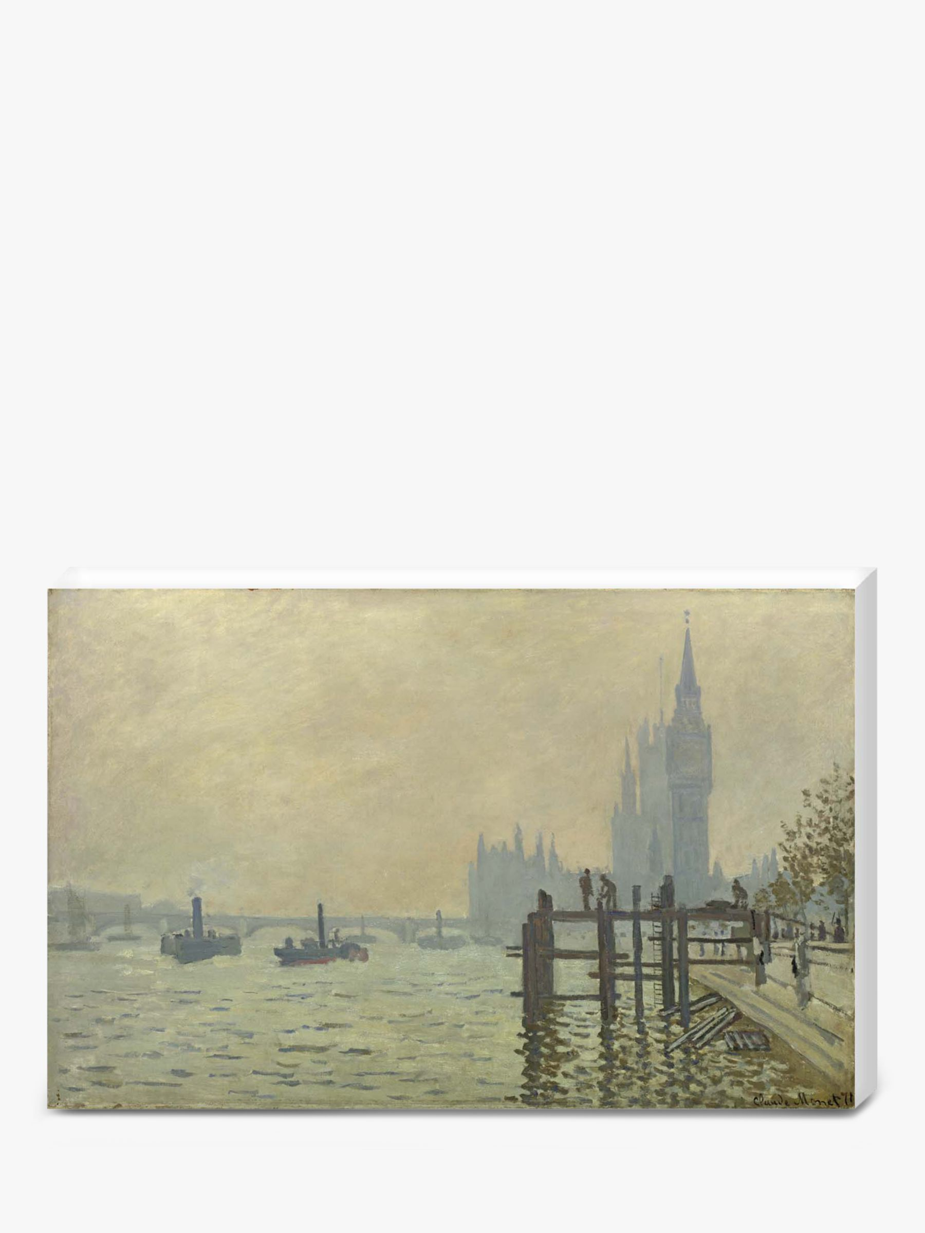 The National Gallery for John Lewis Claude Monet- Thames Below Westminster