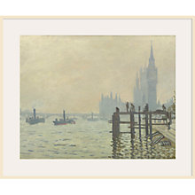 Buy Claude Monet- Thames Below Westminster Online at johnlewis.com