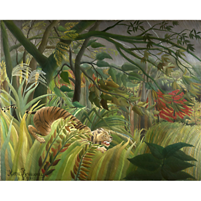 Henri Rousseau- Surprised (Tiger)