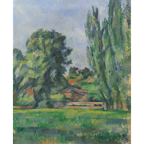 Buy Paul Cezanne- Landscape with Poplars Online at johnlewis.com