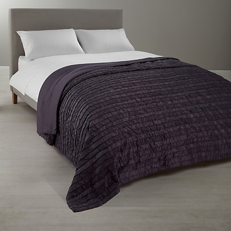 Buy City Cotton Bedspread, Ecru Online at johnlewis.com