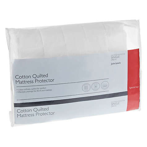 Buy John Lewis Quick Dry Quilted Mattress Protectors Online at johnlewis.com