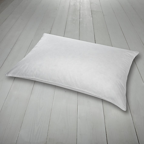 Buy John Lewis Duck Feather and Down Pillow, Medium/Firm Online at johnlewis.com