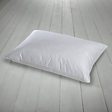 Buy John Lewis Hungarian Goose Down Pillow with Duck Feather Core, Medium Support Online at johnlewis.com