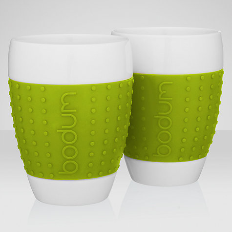 Buy Bodum Pavina Mugs, Set of 2, 0.4L Online at johnlewis.com