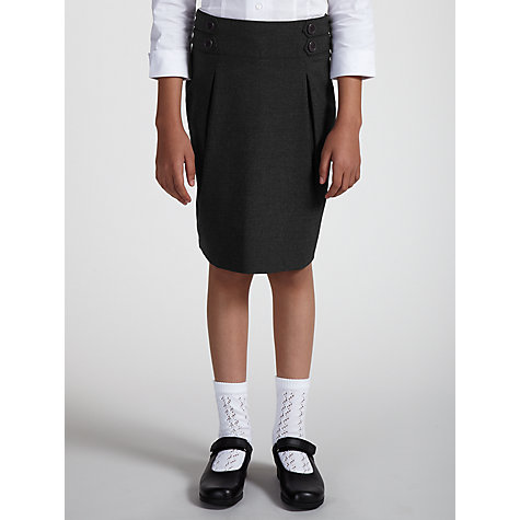 Buy John Lewis Girls' School Pencil Skirt, Grey Online at johnlewis.com